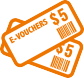 Redeem    e-Vouchers on the go