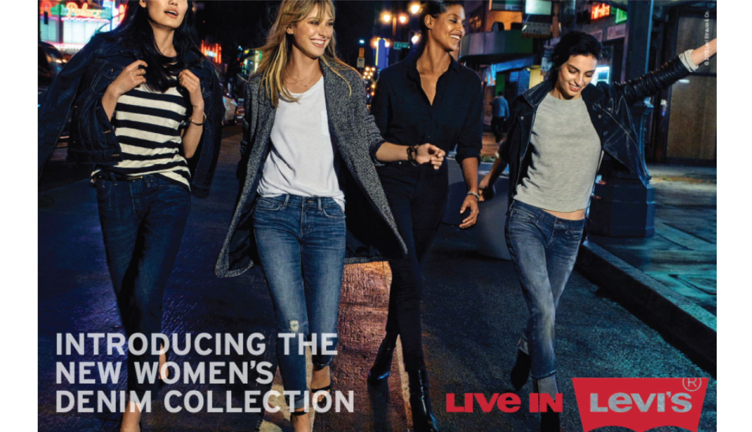 Introducing Levi's® New Women's Denim Collection