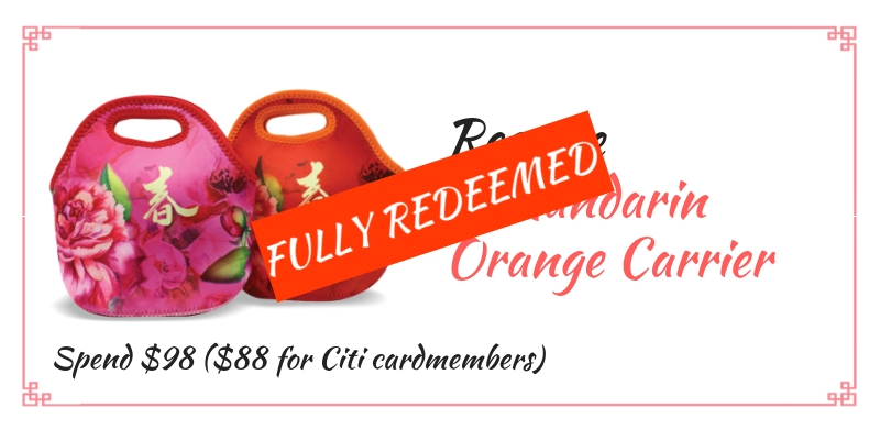 suntec city cny orange carrier